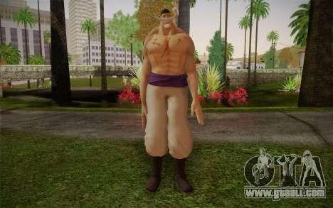 One Piece Whitebeard Edward Newgate for GTA San Andreas