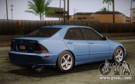 Lexus IS300 2003 for GTA San Andreas left view