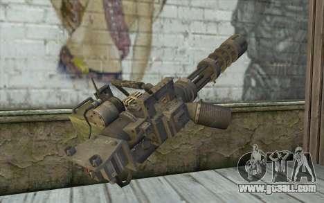 Minigun with a shop for GTA San Andreas second screenshot