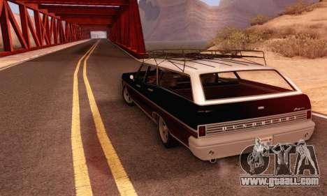 Dundreary Regina V1.0 for GTA San Andreas bottom view