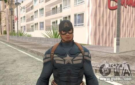 Captain America for GTA San Andreas third screenshot