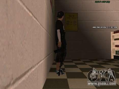 AK-74 for GTA San Andreas fifth screenshot