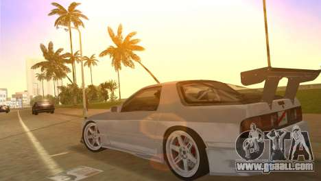 Mazda Savanna RX-7 III (FC3S) for GTA Vice City inner view