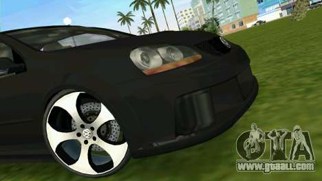 Volkswagen Golf GTI W12 for GTA Vice City back view