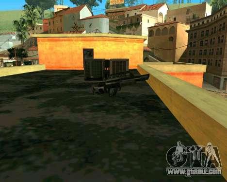 Jackhammer из Max Payne for GTA San Andreas third screenshot