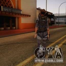 Resident Evil Revelations Jill Valentine for GTA 4