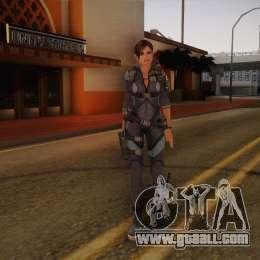 GTA IV SKIN : Resident Evil Revelations Jill Valentine ~ GTA