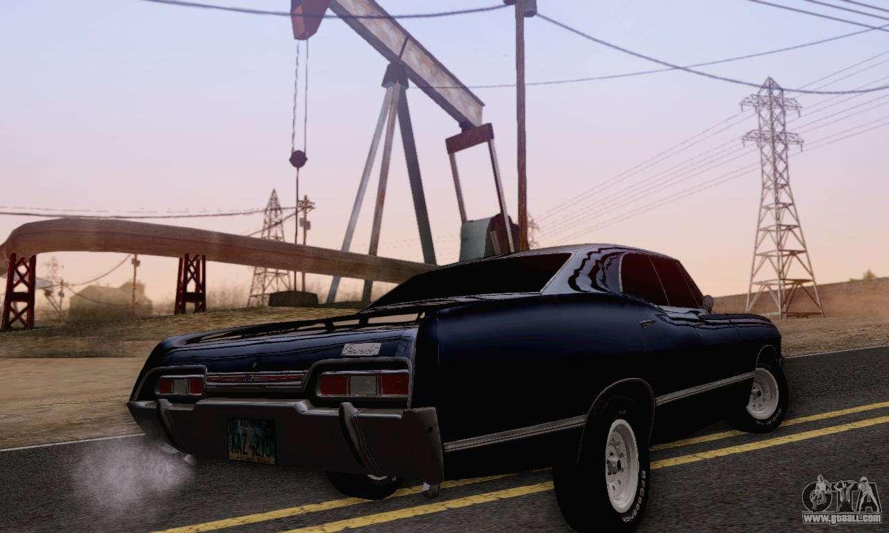 Chevrolet Impala 1967 Supernatural for GTA San Andreas