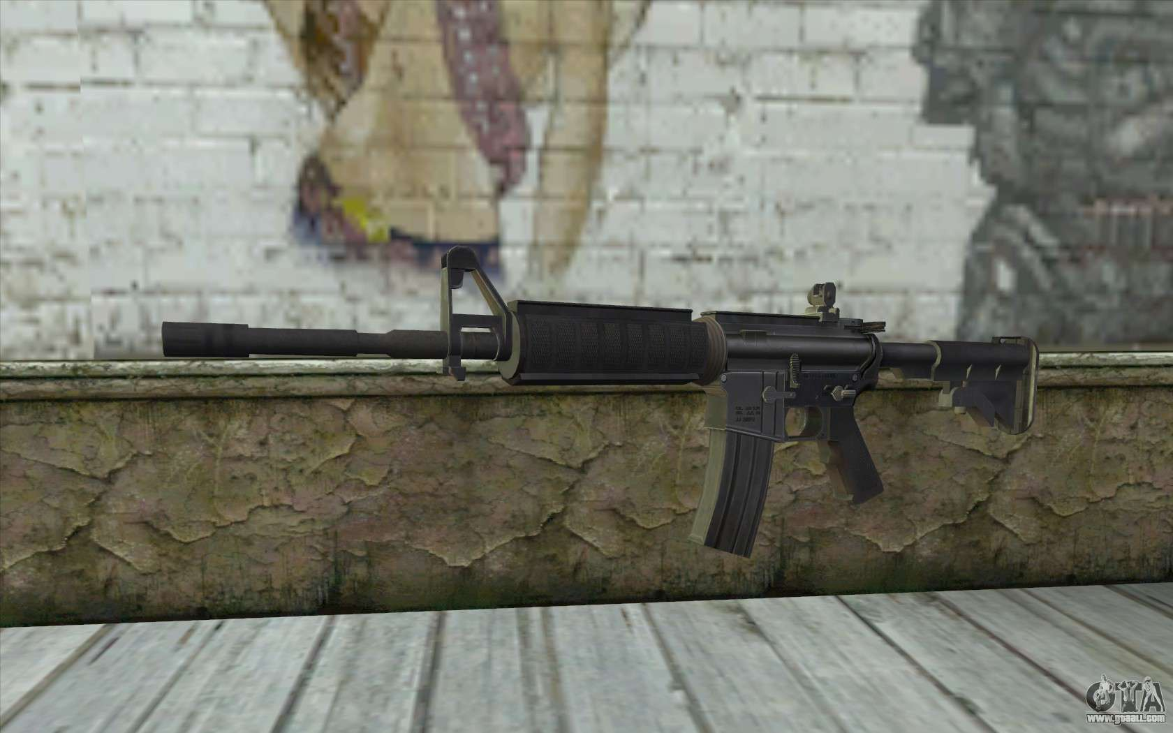 Sgw m4 rifle for gta san andreas