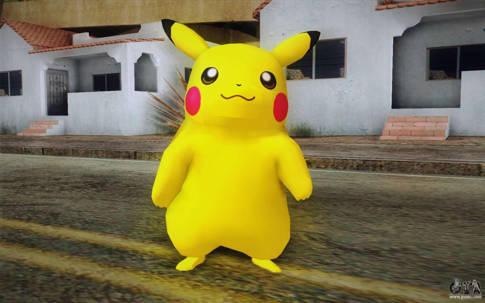 Pikachu For Gta San Andreas-4414