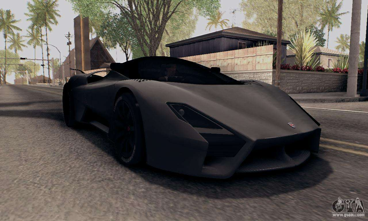 Ssc Tuatara 2011 For Gta San Andreas