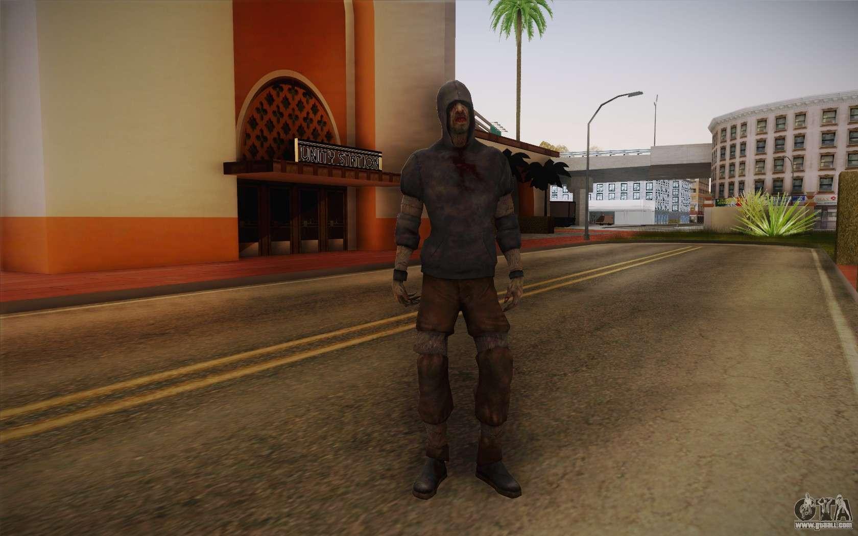 Left 4 Dead Beta Survivors for GTA San Andreas