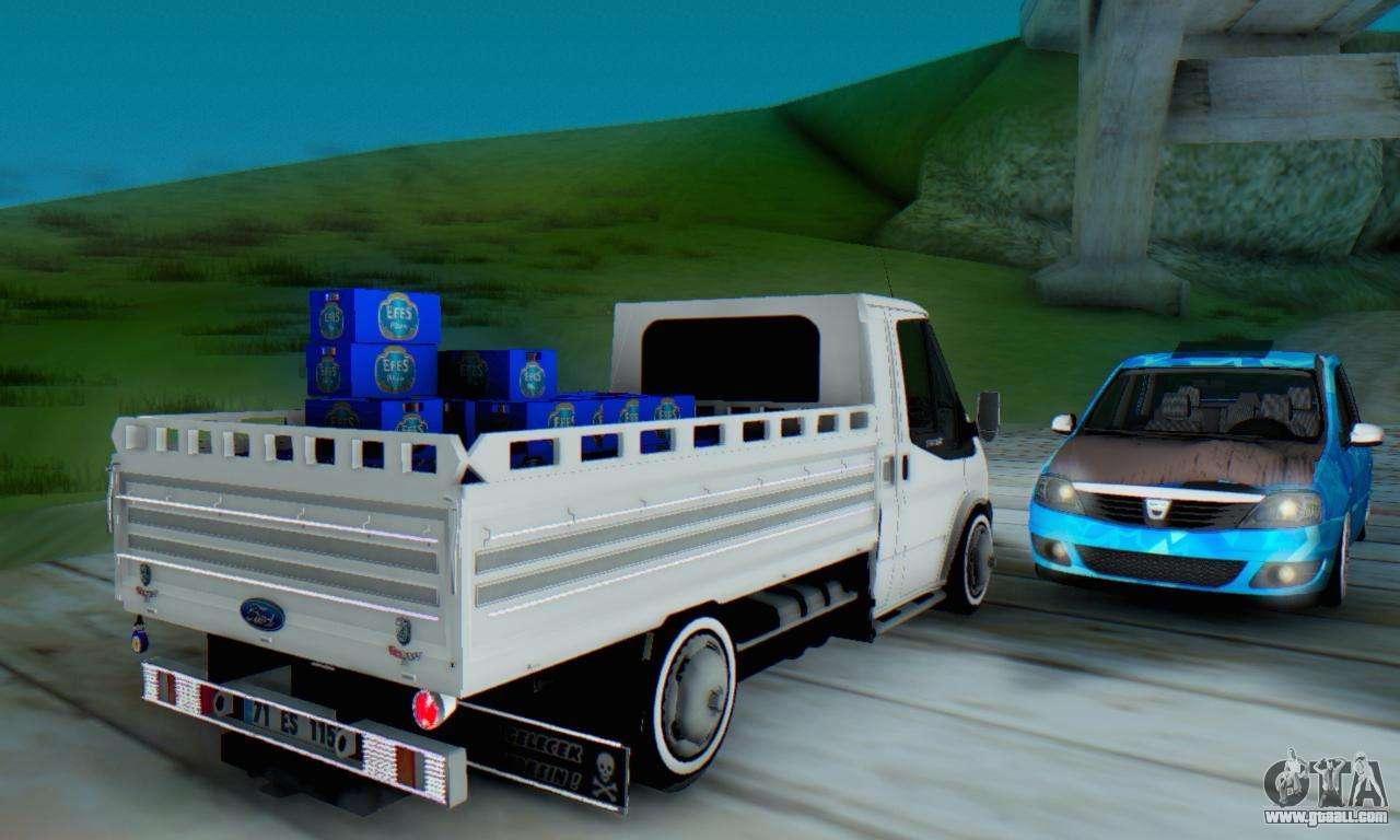 Ford Transit Pikap >> Ford Transit Pikap for GTA San Andreas