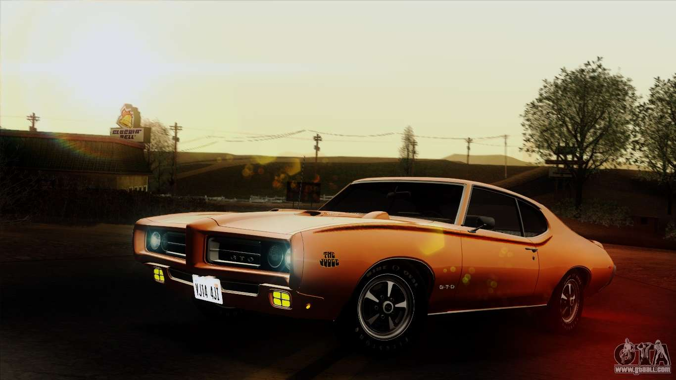 Paint Colors For Cars >> Pontiac GTO The Judge Hardtop Coupe 1969 for GTA San Andreas