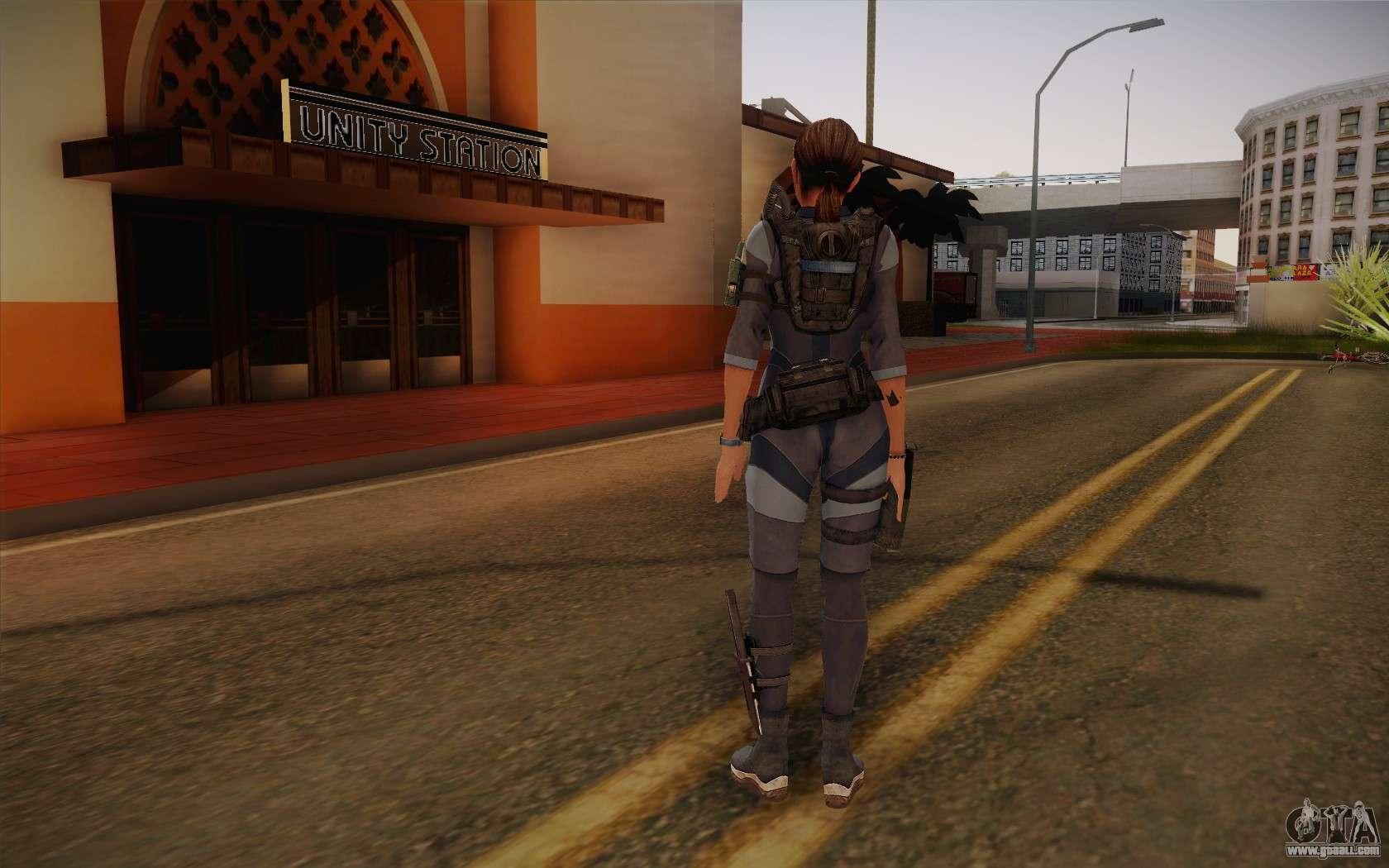 Resident Evil 5 Jill Valentine for GTA 4
