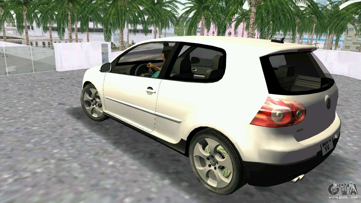 volkswagen golf v gti for gta vice city. Black Bedroom Furniture Sets. Home Design Ideas