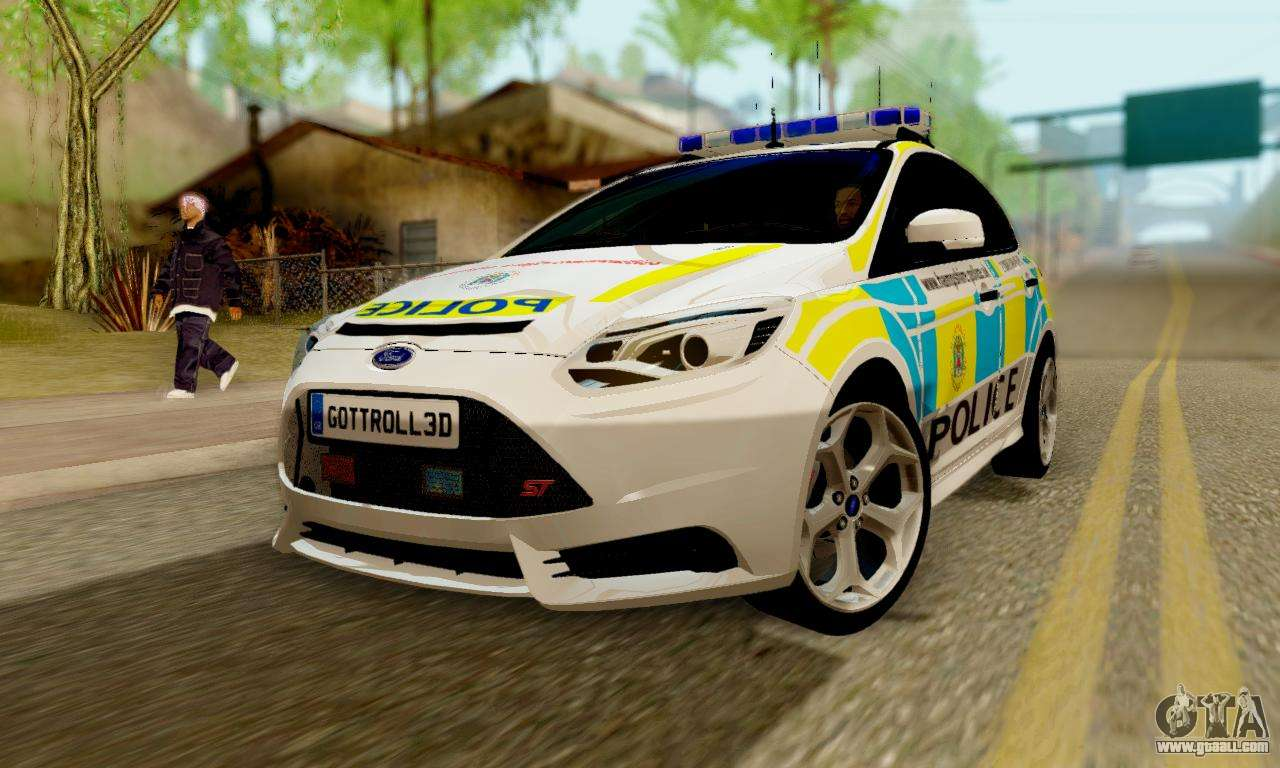 Ford focus st 2013 british hampshire police for gta san for British motor cars san francisco