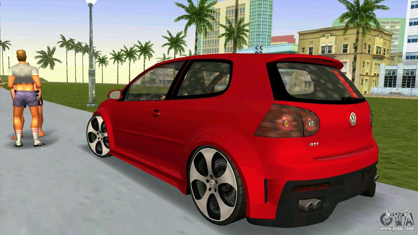 volkswagen golf gti w12 for gta vice city. Black Bedroom Furniture Sets. Home Design Ideas