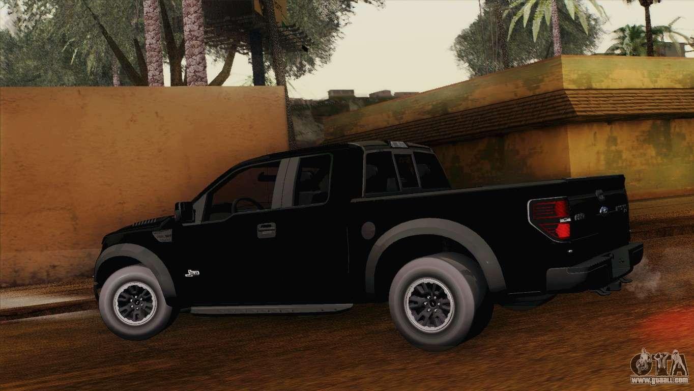Ford F-150 SVT Raptor 2011 for GTA San Andreas