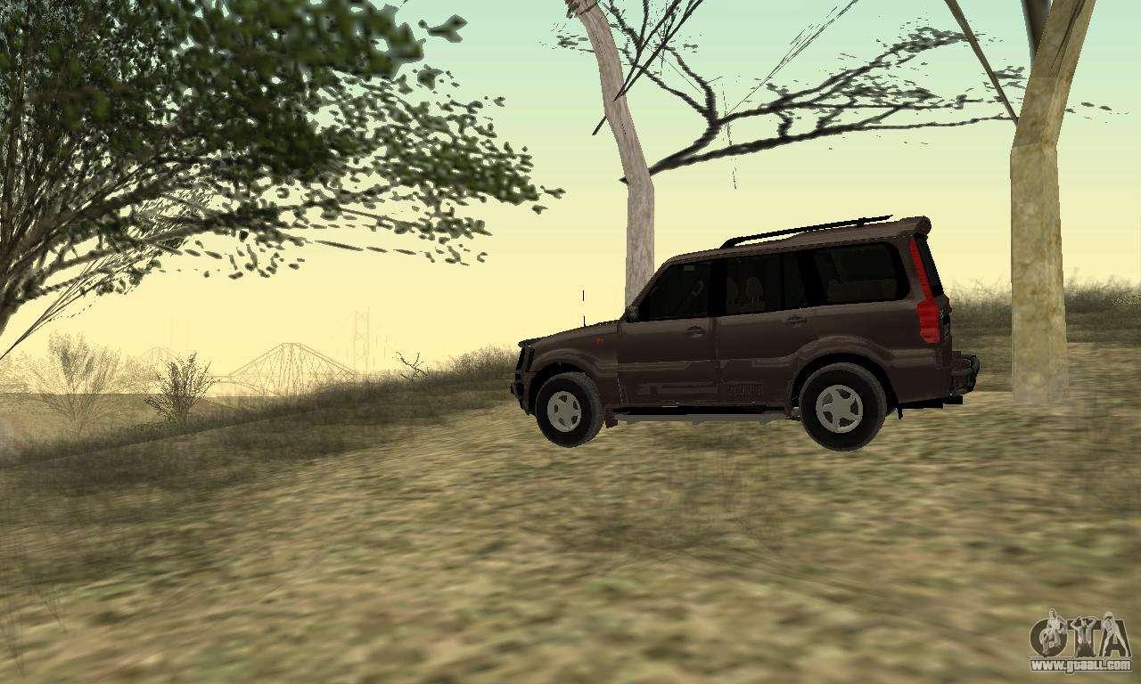 Mahindra Scorpio for GTA San Andreas