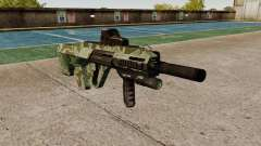 Автомат Steyr AUG-A3 Optic Green Camo for GTA 4