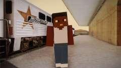 Cj Minecraft for GTA San Andreas