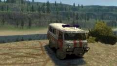 UAZ 39629 Ambulance
