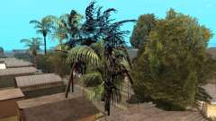 Jungle on a street Aztec for GTA San Andreas