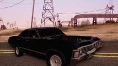 Chevrolet Impala 1967 Supernatural for GTA San Andreas