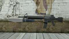 M4A1 with a bayonet