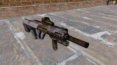 Machine Steyr AUG-A3 Blue Camo for GTA 4