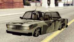 VAZ 2107 in camouflage for GTA San Andreas