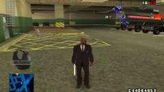 C-HUD by thereobull for GTA San Andreas