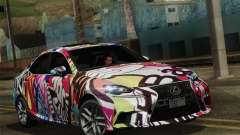 Lexus IS350 FSPORT Stikers Editions 2014