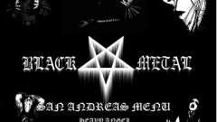 Black Metal Menu (full-screen)