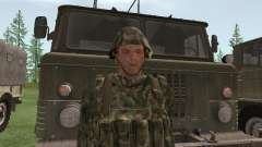 The fighter of the Russian army for GTA San Andreas