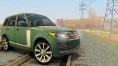 Range Rover Vogue 2014 V1.0 Interior Nero