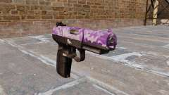 Gun FN Five seveN Purple Camo