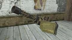 Minigun with a shop