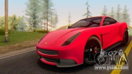 Dewbauchee Massacro 1.0 for GTA San Andreas