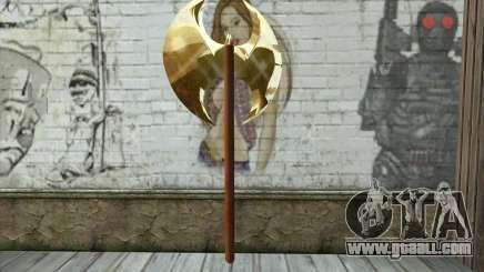 Golden axe for GTA San Andreas