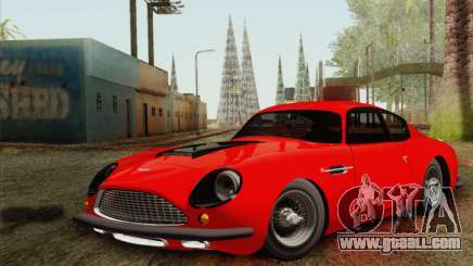 Aston Martin DB4 Zagato 1960 for GTA San Andreas