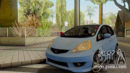 Honda Fit Stock 2009 for GTA San Andreas