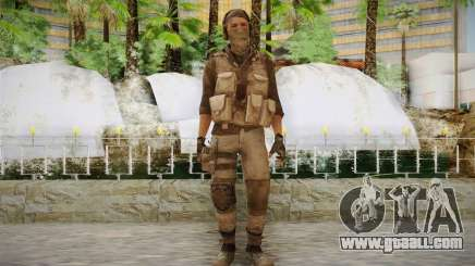 Mercenary in the armor (COD MW3) for GTA San Andreas
