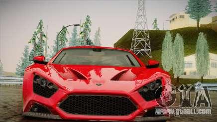 Zenvo ST1 SLow 2010 for GTA San Andreas