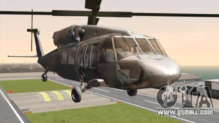 UH-60 Blackhawk for GTA San Andreas