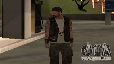 Biker from the club Roads Angels for GTA San Andreas