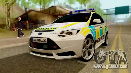 Ford Focus ST 2013 British Hampshire Police for GTA San Andreas