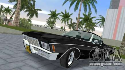 Buick Riviera 1972 Boattail for GTA Vice City