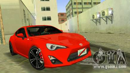 Toyota GT86 for GTA Vice City